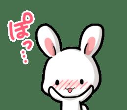 Always together Rabbit & Bear's love2 sticker #5922347