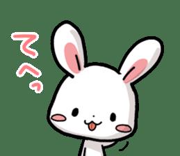 Always together Rabbit & Bear's love2 sticker #5922348