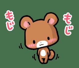 Always together Rabbit & Bear's love2 sticker #5922349