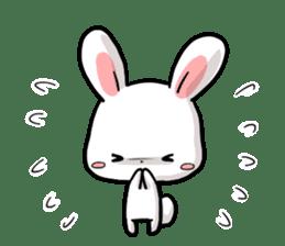 Always together Rabbit & Bear's love2 sticker #5922351
