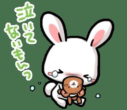 Always together Rabbit & Bear's love2 sticker #5922355