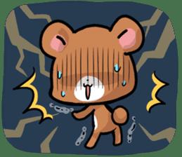 Always together Rabbit & Bear's love2 sticker #5922356