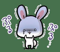Always together Rabbit & Bear's love2 sticker #5922359