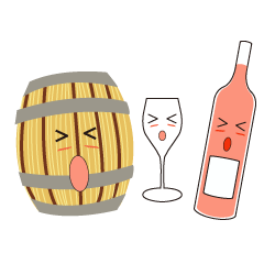 wine and wine's friends (ENGLISH ver.)