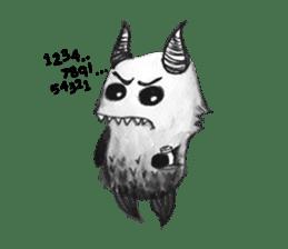 Monster Attack sticker #5922880