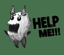 Monster Attack sticker #5922893