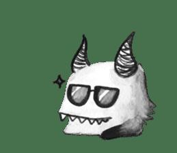 Monster Attack sticker #5922911