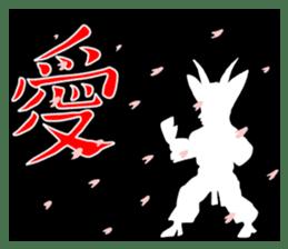 legendary karate fighter, Goat hermit2 sticker #5924448