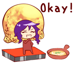 """Akashiyakii idol """"Himeno"""" sticker #5924576"""