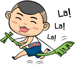 Thailand Isan Funny sticker #5925374