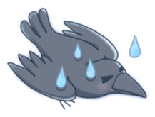 Karasu's Crow Sticker No.1 sticker #5927167