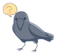 Karasu's Crow Sticker No.1 sticker #5927177