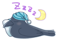Karasu's Crow Sticker No.1 sticker #5927182