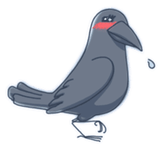 Karasu's Crow Sticker No.1 sticker #5927186