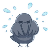 Karasu's Crow Sticker No.1 sticker #5927188