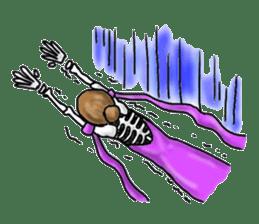 Lady Skull sticker #5927854