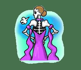 Lady Skull sticker #5927859