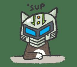 Ex-Space Super Spy Ga-nyan sticker #5931752