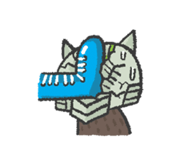 Ex-Space Super Spy Ga-nyan sticker #5931777