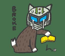 Ex-Space Super Spy Ga-nyan sticker #5931778