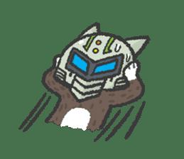 Ex-Space Super Spy Ga-nyan sticker #5931779