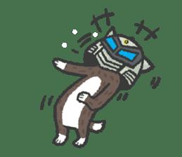 Ex-Space Super Spy Ga-nyan sticker #5931788