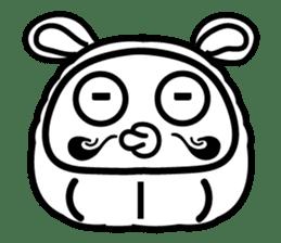 Lucky Daruma Doll 2 sticker #5933002