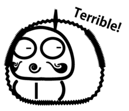 Lucky Daruma Doll 2 sticker #5933009
