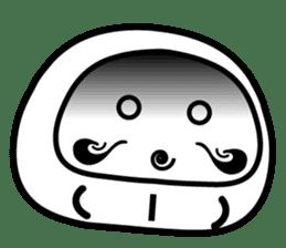 Lucky Daruma Doll 2 sticker #5933019
