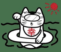 Lucky Daruma Doll 2 sticker #5933028