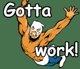 World Excuse Wrestling sticker #5933039