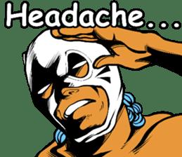 World Excuse Wrestling sticker #5933047
