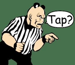 World Excuse Wrestling sticker #5933089