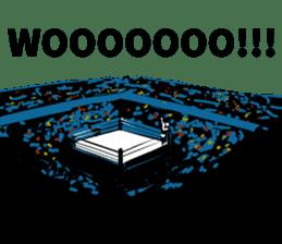 World Excuse Wrestling sticker #5933101