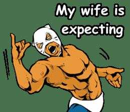 World Excuse Wrestling sticker #5933105