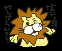 cute! zoo of sticker sticker #5935043