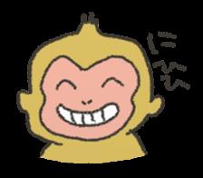 cute! zoo of sticker sticker #5935046