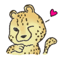 cute! zoo of sticker sticker #5935047