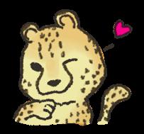 cute! zoo of sticker sticker #5935047