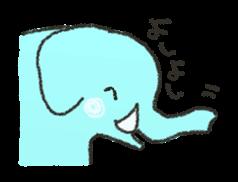 cute! zoo of sticker sticker #5935067