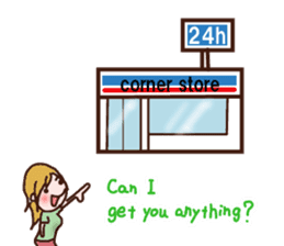 Let's go to the boyfriend's house (Eng.) sticker #5937004