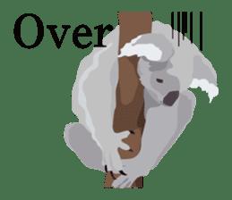 animal house ver.english sticker #5939604