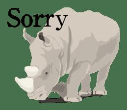 animal house ver.english sticker #5939624