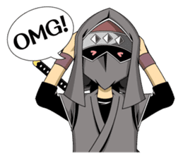 Ninja -SHINOBI- sticker #5940846
