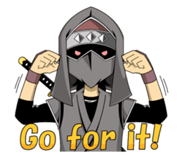 Ninja -SHINOBI- sticker #5940848