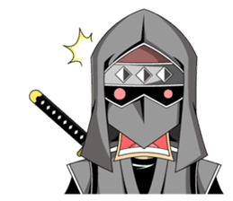Ninja -SHINOBI- sticker #5940850