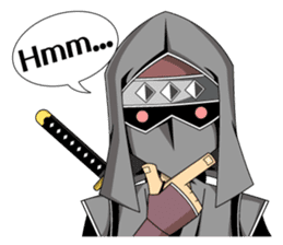 Ninja -SHINOBI- sticker #5940852