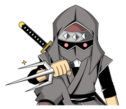 Ninja -SHINOBI- sticker #5940857