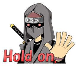 Ninja -SHINOBI- sticker #5940865
