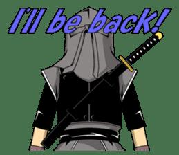 Ninja -SHINOBI- sticker #5940868